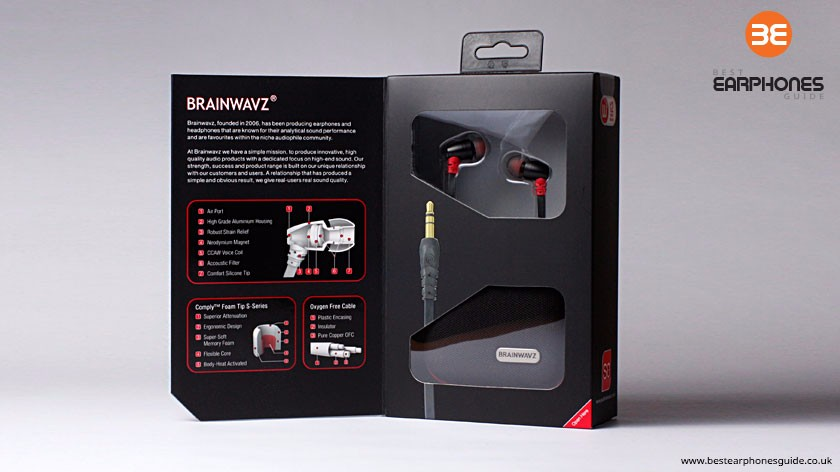 Brainwavz S0 - inside the box
