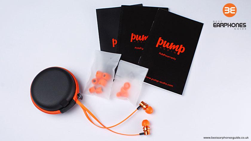 Pump In Ear Headphones - Contents