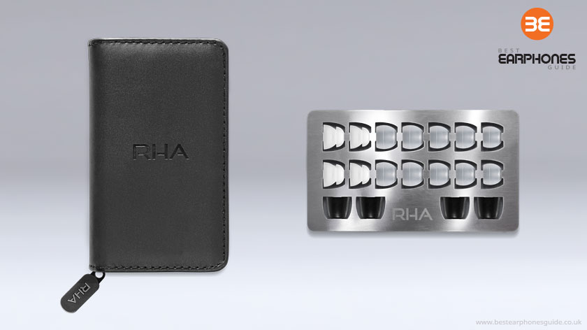 RHA MA750i storage case & eartips