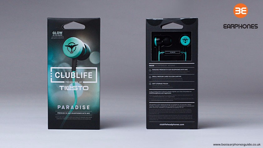 Audiofly Clublife Paradise Packaging