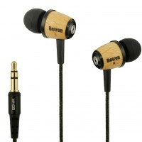 Betron W-68 Wooden Earphones