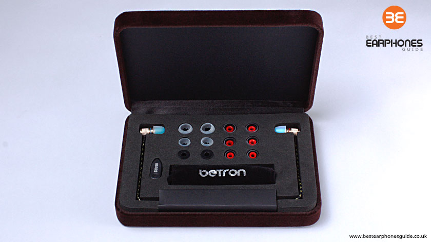 Betron DNZ500 earphones - inner Box