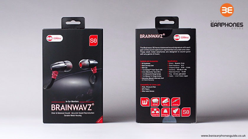 Brainwavz S0 packaging