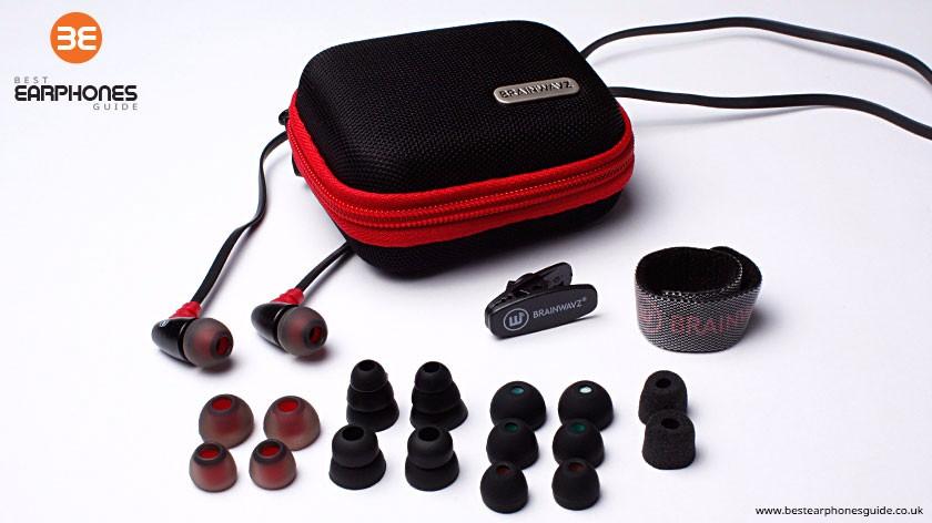 Brainwavz S0 earbuds - complete set