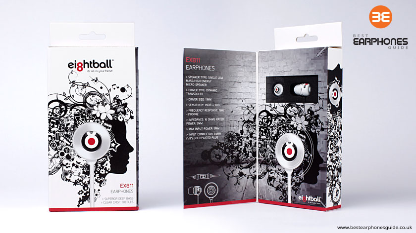 Ei8htball EX811 Packaging