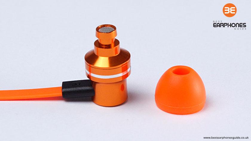 Pump Audio - in ear headphones, naked
