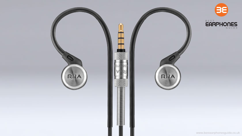 RHA - MA750i in ear headphones with Jackplug