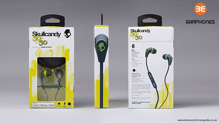 Skullcandy 50-50 packaging