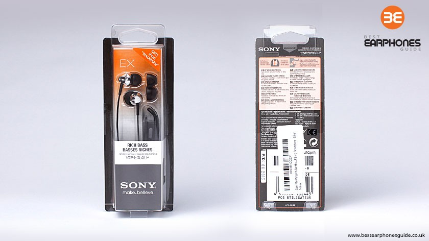 Sony MDR EX-50LP Packaging