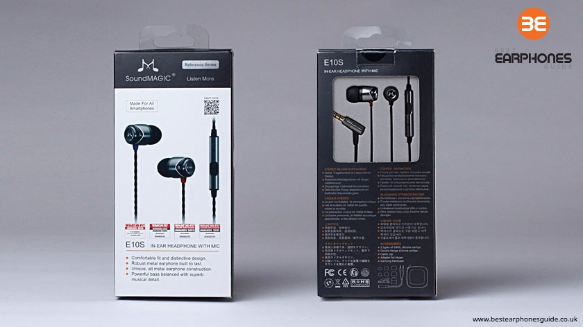 SoundMAGIC E10S Packaging